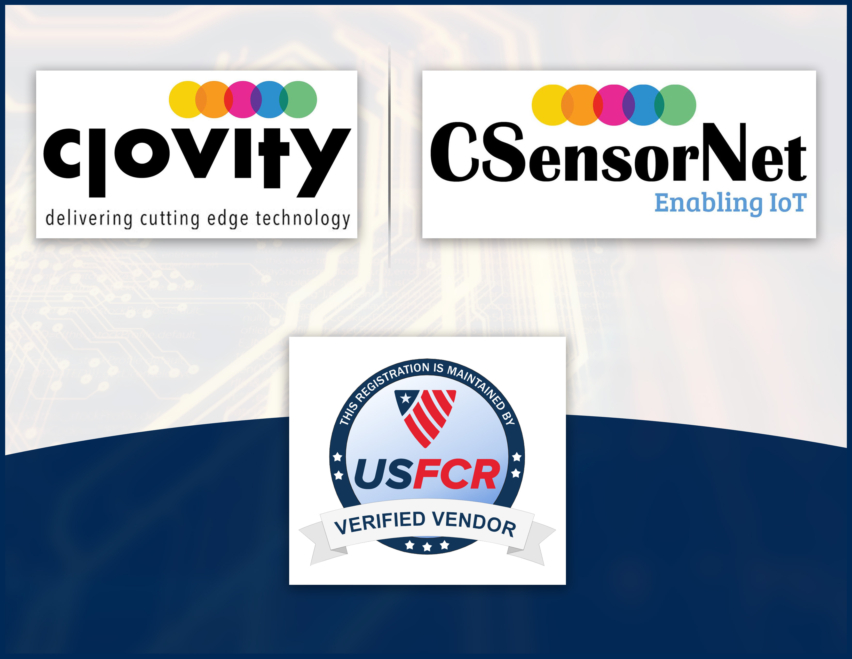 Clovity Brings Its CSensorNet IoT Platform & Professional Services Capabilities to Cities, States, & Government Entities Across the US as a Federally Approved Contractor