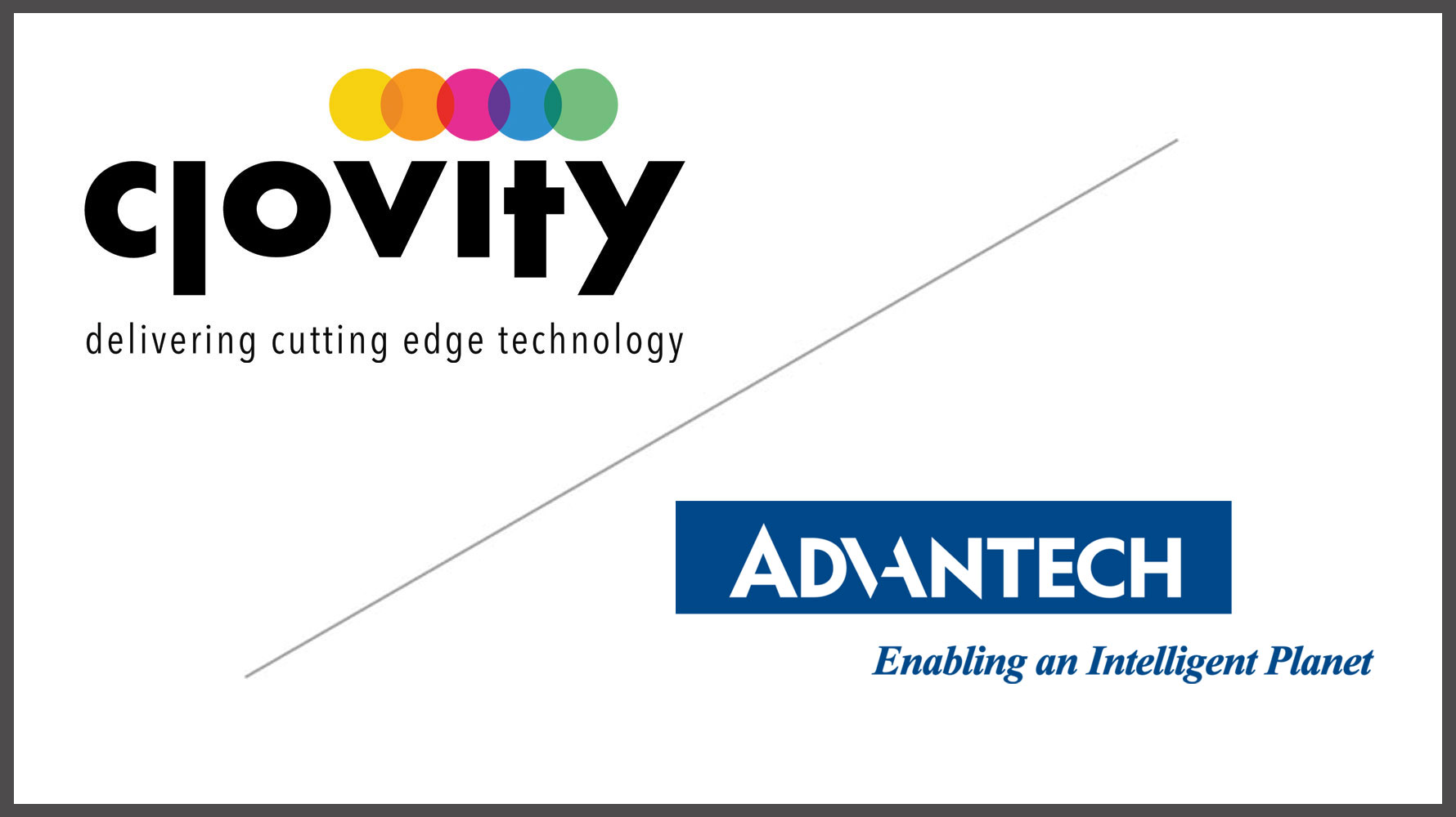 Advantech and Clovity Partner to Create the next Echelon of IoT Deployments for Enterprises in the Healthcare, Industrial, and Smart City Industries