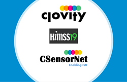 Clovity Showcases their Upgraded IoT Healthcare Accelerator CSensorNet at HIMSS19 Conference